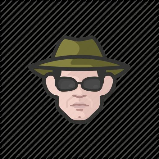 Avatar, Avatars, Detective, Investigator, Man, Secret Agent Icon