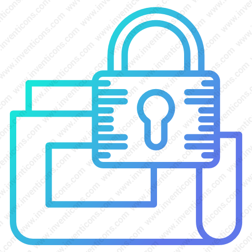 Download Secure,data,folder Icon Inventicons
