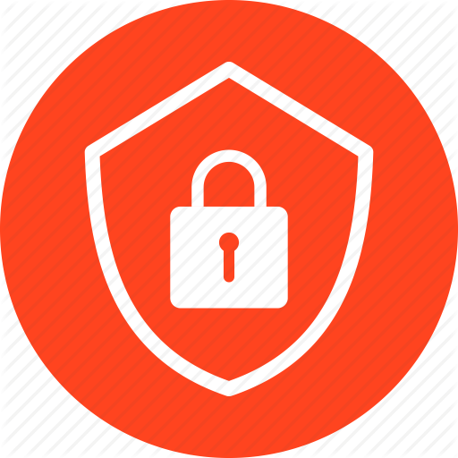 Encryption, Firewall, Lock, Red, Safe, Secure, Security Icon