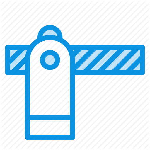 Barrier, Gate, Security Icon
