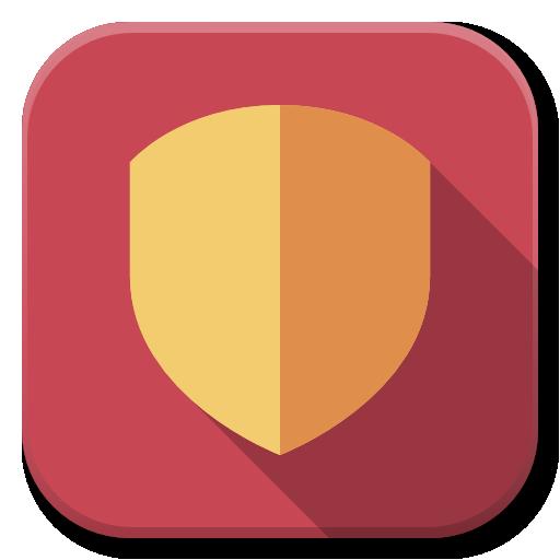 Apps Security Icon Flatwoken Iconset Alecive