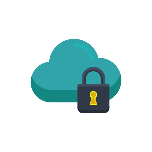 Cloud Security Icon Free Download