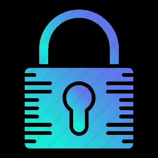 Download Security,padlock Icon Inventicons