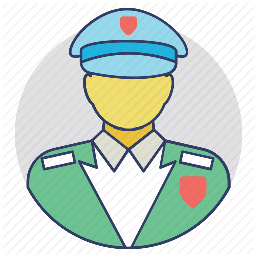 Guard, Security Guard, Security Man, Security Officer, Watchman Icon