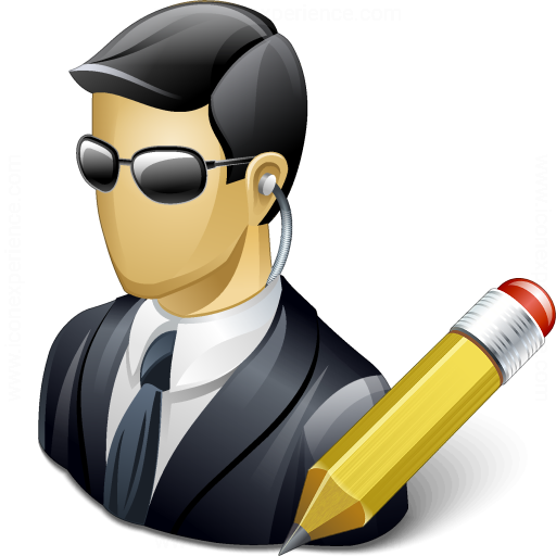 Iconexperience V Collection Security Agent Edit Icon