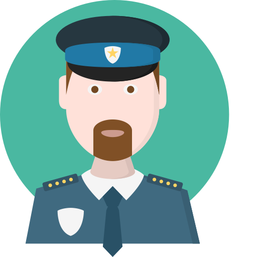 Police Station, Security, Buildings Icon With Png And Vector