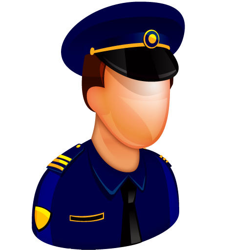 Police Officer, Man, Person, Polici Icon Free Of Free Large Boss