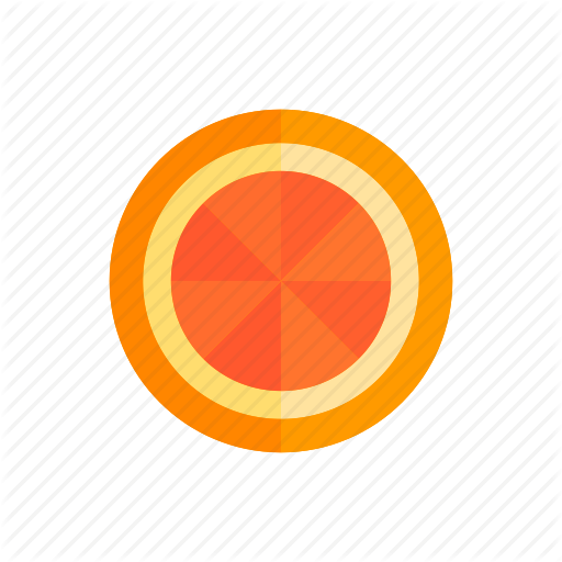 Colour, Food, Fruit, Grapefruit, Orange, Segment, Slice Icon