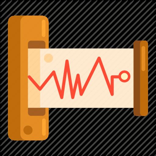 Data, Seismic, Seismic Data Icon