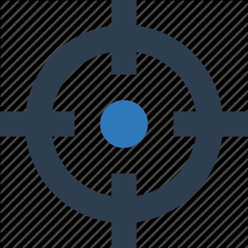 Crosshair, Focus Button, Focus Selector, Target Icon