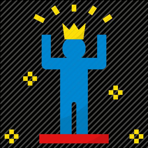 Confident, King, Reliance, Self, Winner Icon