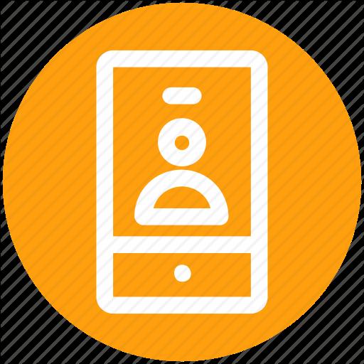 Login, Man, Mobile, Phone, Selfie, User Icon