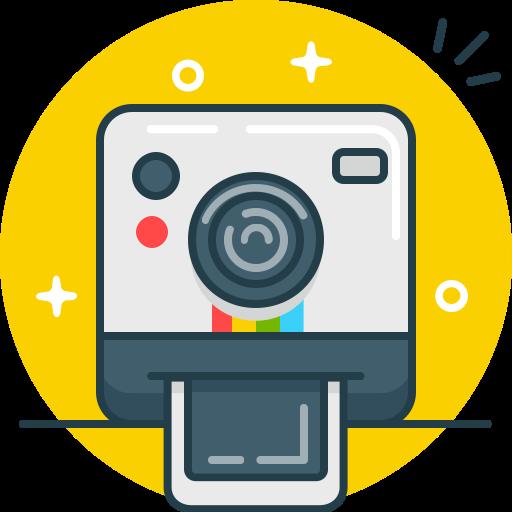 Selfie, Shoot, Instagram, Polaroid, Camera, Photo Icon