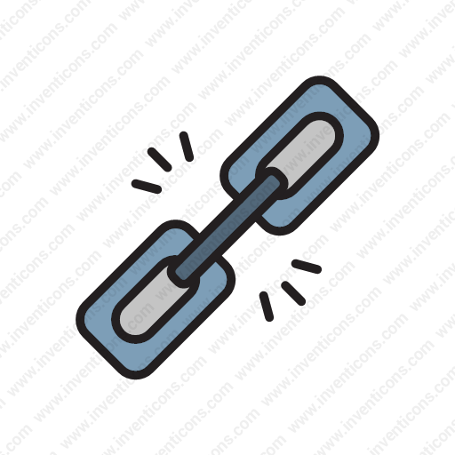 Download Disconnect,chain,clip,interaction,send Icon Inventicons