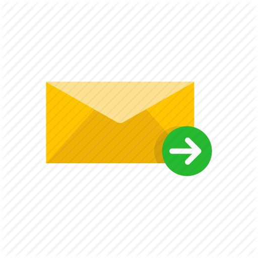 Envelope, Letter, Send Letter, Sending Message Icon