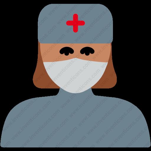 Download Hospital,medical,healthcare,nurse,nurse Icon Inventicons