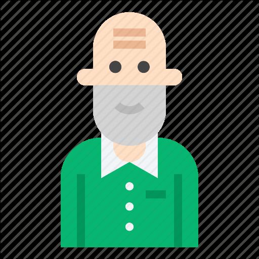 Elderly, Man, Old, Senior Icon