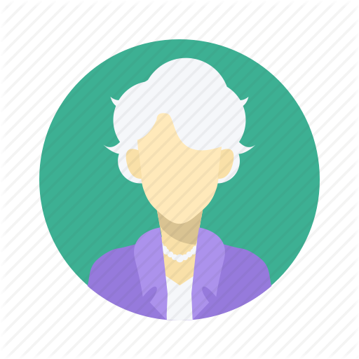 Old Woman Icon Images
