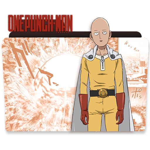 One Punch Man Folder Icon