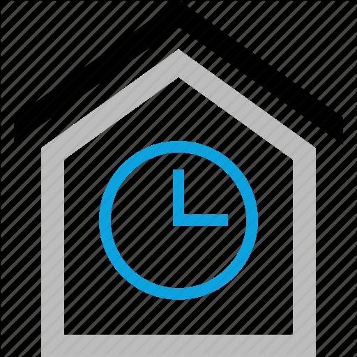 Home, House, Money, Sensitive, Time Icon