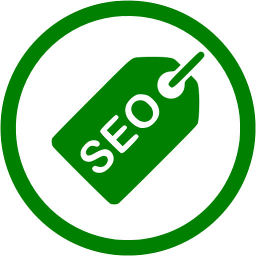 Green Seo Tag Icon