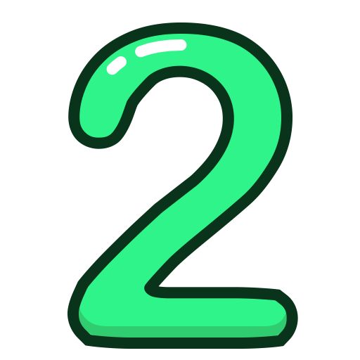 Two, Hands Icon