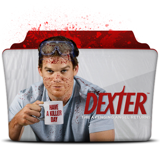 Dexter Icon Tv Series Folder Pack Iconset