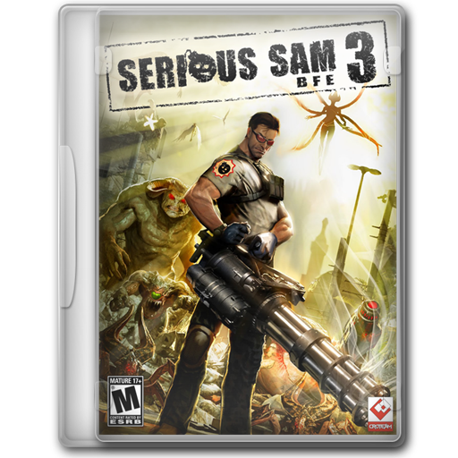 Serious Sam Bfe Icon Game Cover Iconset Jeno Cyber