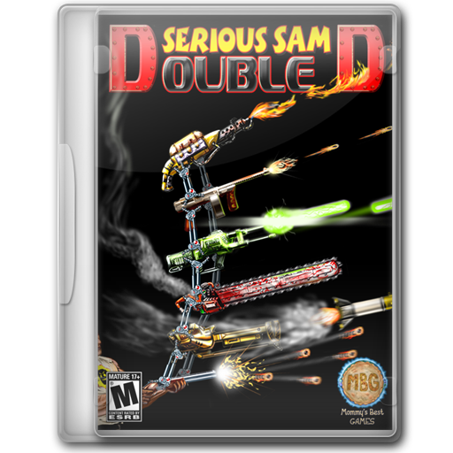 Serious Sam Double D Icon Game Cover Iconset Jeno Cyber