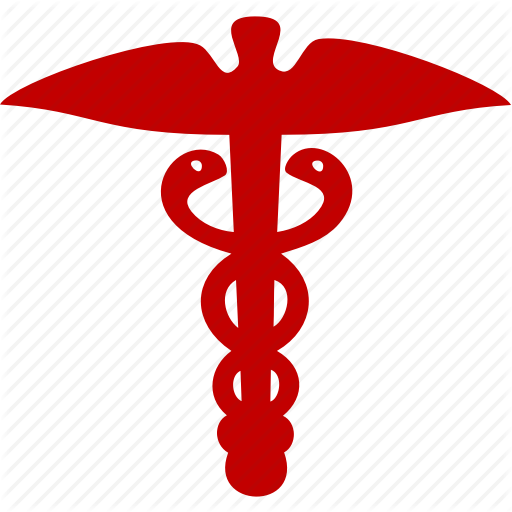 Emblem, Health, Medicine, Serpent Icon