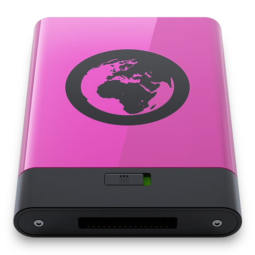 Pink Server B Icon