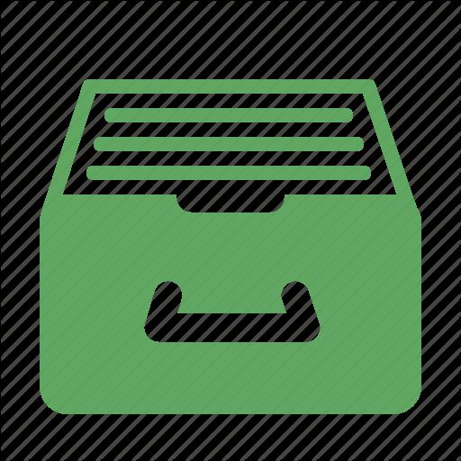 Archive, Catalog, Documentation, Paperwork Icon