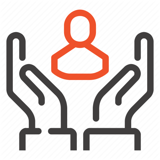Care, Customer, Hands, People, Person, Service, Support Icon