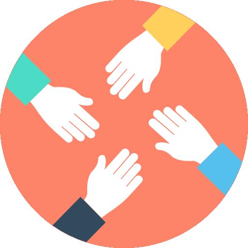 Teamwork Free Vector Icons Designed