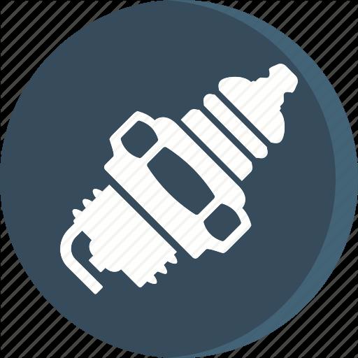 Automobile, Car, Garage, Servicing, Spark, Vehicle Icon