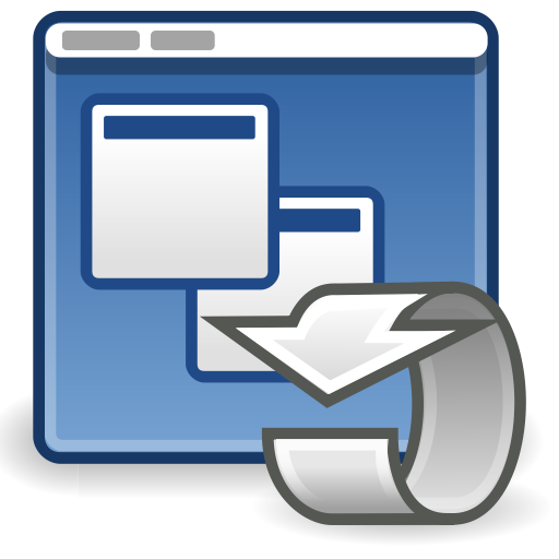 Preferences, System, Session Icon