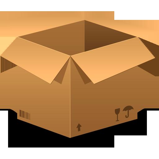 Objects Box Icon, Box