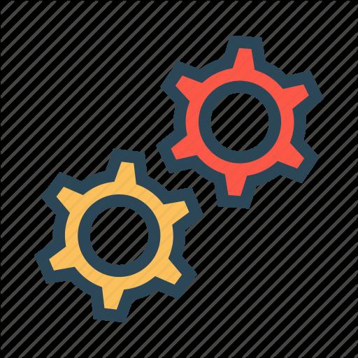Configuration, Gear, Options, Setting, Wheel Icon