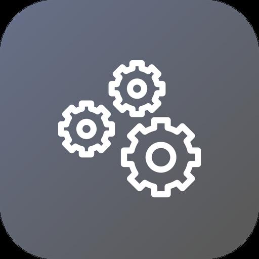 Settings, Gear, Optimization, Coag, Wheel, Preferences