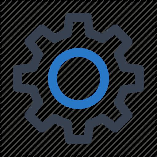 Control, Gear, Options, Preferences, Settings, Setup Icon