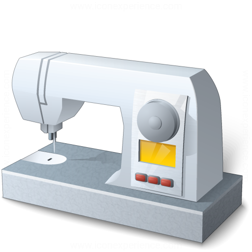 Iconexperience V Collection Sewing Machine Icon