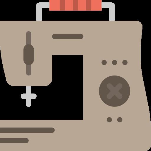 Sewing Machine Fashion Png Icon