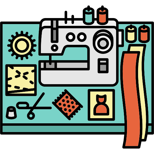 Utensils, Workspace, Profession, Seamstress, Desk, Office, Sewing