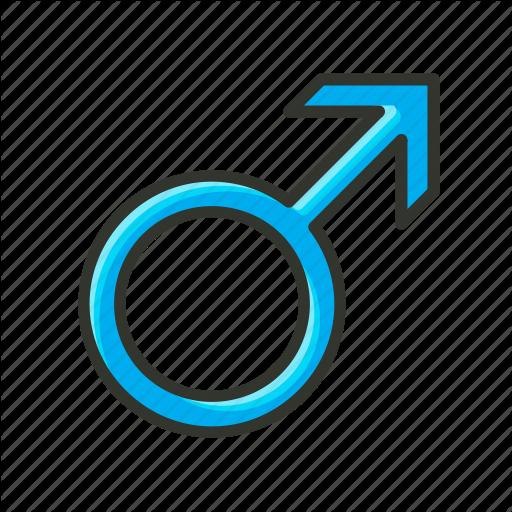 Boy, Gender Symbol, Male Symbol, Man, Sex Symbol Icon
