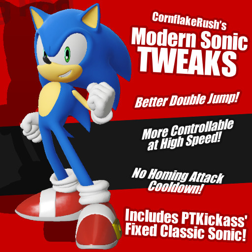 Cfr's Modern Sonic Physics Tweaks Sonic Forces Mods