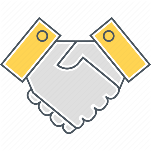 Hand Shake, Handshake, Partnership, Shake Hands, Shaking Hands Icon