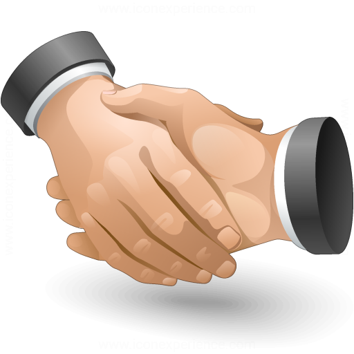 Iconexperience V Collection Handshake Icon