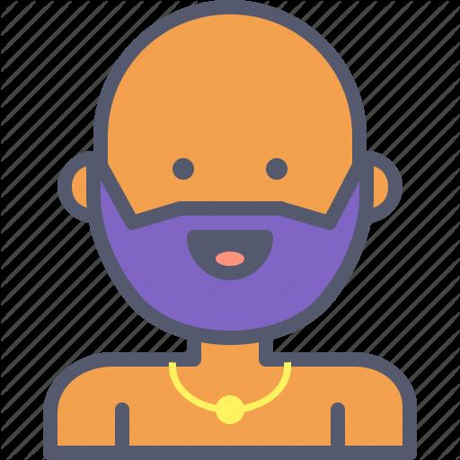 Amulet, Beard, Jewel, Shaman, Yoga Icon
