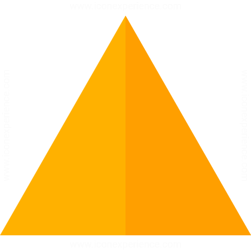 Iconexperience G Collection Shape Triangle Icon