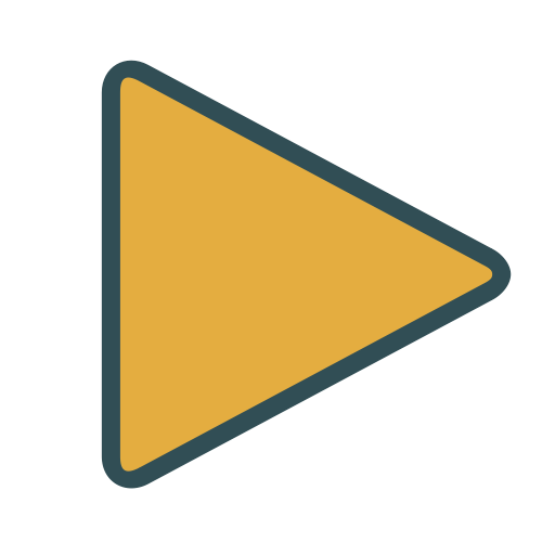 Play, Triangle, Media, Shape Icon Free Of Brands Colored Icons